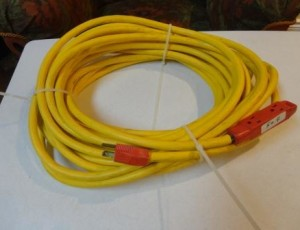 50 foot extension cord – $65