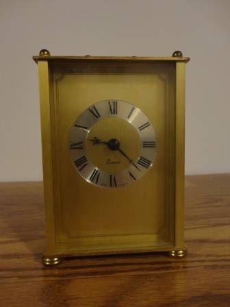 Quartz West Germany Clock – $25