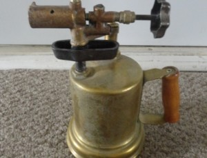 Antique Blow Torch – $35