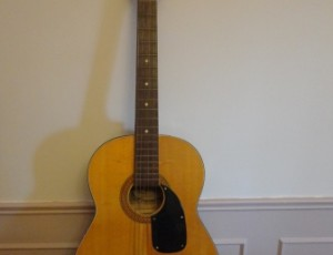Lancer Acoustic Guitar – $135