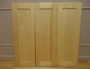 3 Cabinet Doors – $15