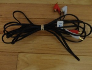 TV VCR Cable – $5