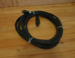 Heavy Duty Extension Cord – $30