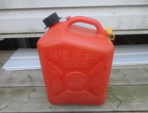 Gasoline Container / Can – $10