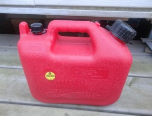 Gasoline Container / Can – $5