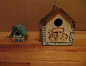 Decorative Bird Homes – $5