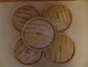 Bamboo Steamer Lids – $20