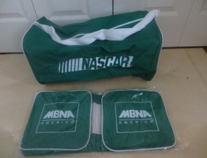 2 NASCAR MNBA Sport Bags – $5