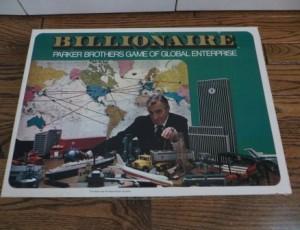 Billionaire Board Game – $10
