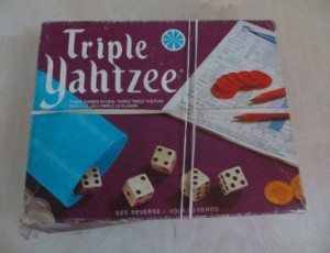 Triple Yahtzee Game – $15