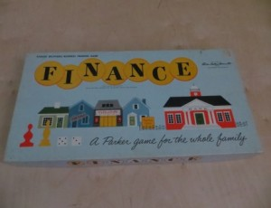 Finance Board Game – $10