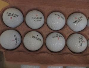 Dunlop / Welson / Top-Flight Golf Balls – $30
