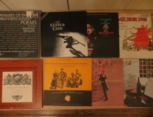 12 Assorted Records – $20