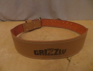Grizzly Weight Training Belt – $25