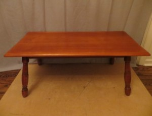 Solid Wood Coffee Table – $45