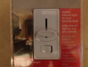 Lutron Dimmer/Switch – $10