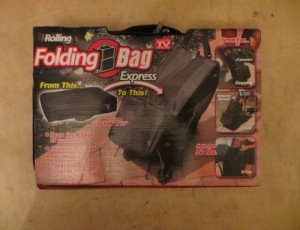 Folding Travel / Luggage Bag – $15