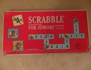 Scrabble Crossword Game – $10