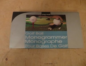 Golf Ball Monogrammer – $25