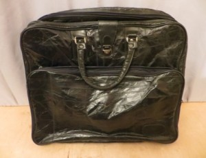 Leather Travel Bag – $25
