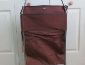 Folding Shopping Bag on Wheels – $15