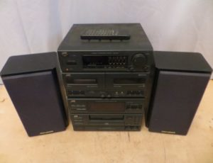 JVC Compact Stereo System – $95