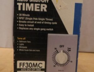 Intermatic Auto Shut-Off Timer – $15
