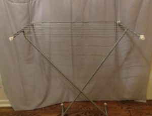 Ikia Cloth Hanger Stand – $15