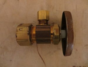 BrassCraft Multi-Turn Compression Angle Stop Valve – $5