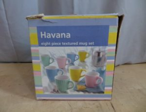 Havana 8 Piece Textured Mug Set – $15