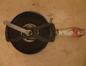 Vintage Steel Measuring Tape – $45