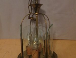 Brass Light Fixture – $95