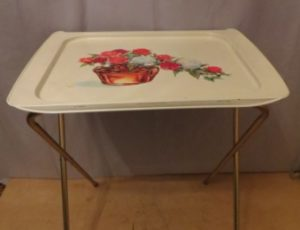Cal-Dak New Dynasty Tray Table Set – $65