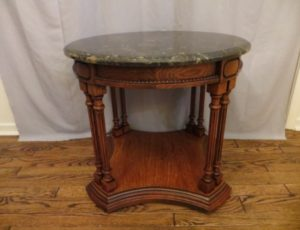 Marble Top End Table – $165