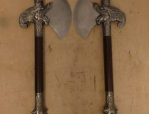 Dragon Head Decorative Axes – $165