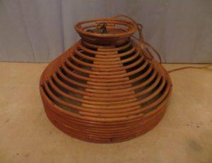 Bamboo Light Fixture – $35