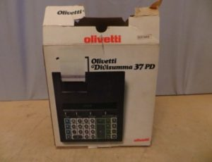 Olivetti Divisumma 37 PD Calculator – $125