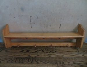 Solid Oak Shelf – $30