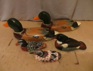 Decorative Wooden Ducks – $45