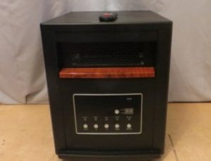 Life Smart Infrared Heater – $75