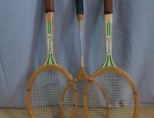 3 Tennis Racket – $20