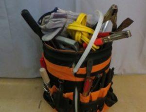 Bucket Organizer Tool Holder with Tools – $65