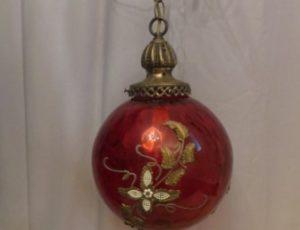 Vintage Globe Light Fixture – $165