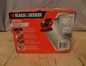 Black and Decker Mouse sander/Polisher – $45