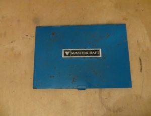 Mastercraft 60 Piece Tap Die Set – $55