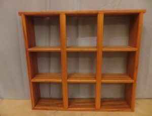 Wood Shelf Unit – $25