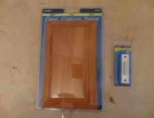 Carlon Wired Chime Door Bell – $25