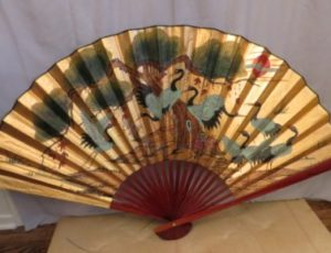 Decorative Wall Fan – $25