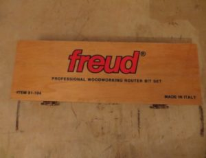 Freud Professional Woodworking Router Bit Set – $135
