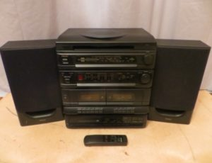 TEAC Stereo System & Record Player – $135